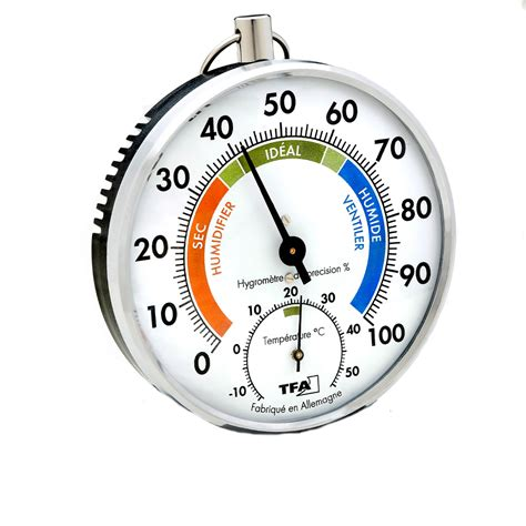 Beschriftung Thermometer by Pr 196 Zisions Thermo Hygrometer Tfa 45 2027 Franz 214 Sische