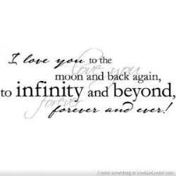 To Infinity And Beyond Meaning Infinity Symbol Quotes Quotesgram