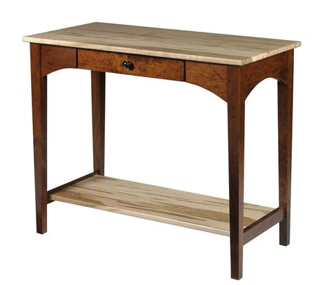 Shaker Style Sofa Table by Modern Style Shaker Sofa Table From Dutchcrafters Amish