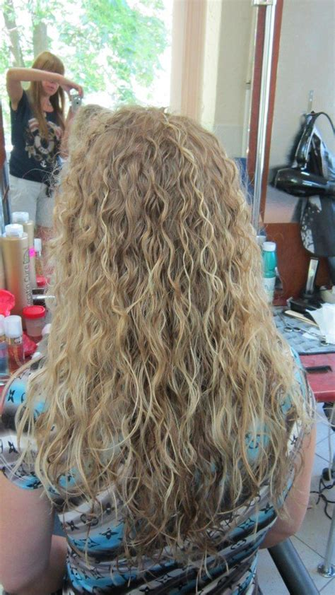 spiral perms for long hair long spiral perm hair cuts pinterest