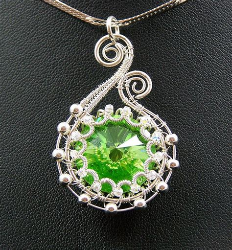 wire works jewelry necklace brooch bracelet pendants wire works