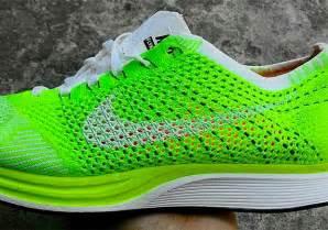 Nike Flyknit Racer Green Neon nike flyknit racer neon green volt sneaker bar detroit