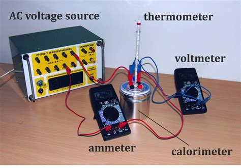 Set The Heat Experimental Determination Of Specific Heat Of Water