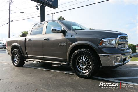black ram wheels dodge ram with 20in black rhino taupo wheels exclusively