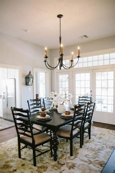 Joanna Gaines Dining Room Pictures Fixer Table And Chairs Magnolia Homes And Doors