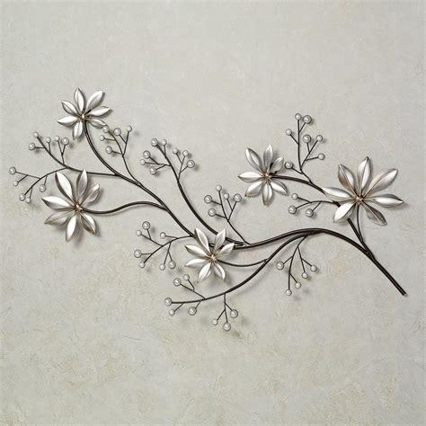 metal flower wall decor digs decor