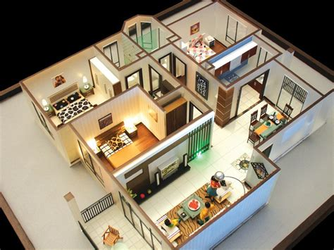 house maker 3d beautiful 3d building model making residential home model