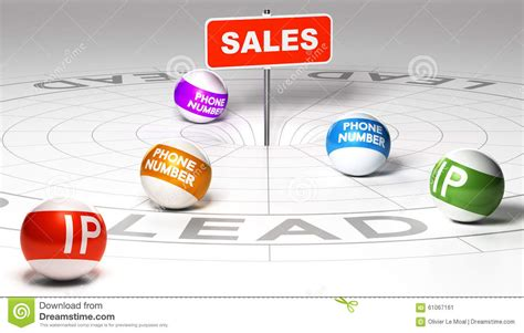 Phone Number Ip Tracker Ip Tracking And Retargeting Stock Illustration