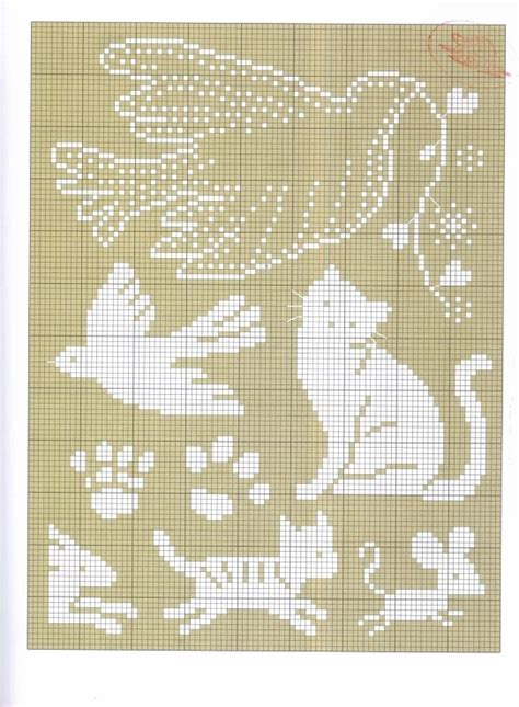 free knitting charts animals 229 best schemi quot punto croce quot images on cross