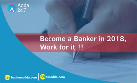 becoming a banker become a banker in 2018 work for it