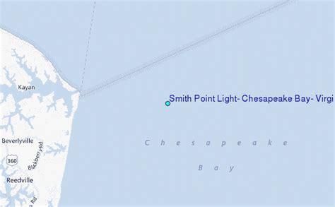 smith point light smith point light chesapeake bay virginia tide station