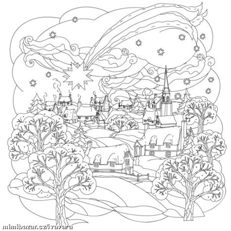 town coloring book stress relieving coloring pages coloring book for relaxation volume 4 books antistresov 201 omalov 193 nky zimn 205