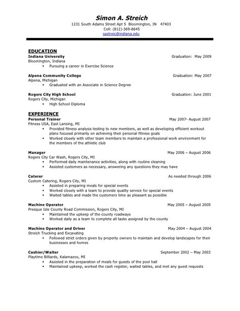 resume sle waitress sle of waiter resumes cerescoffee 100 images navy