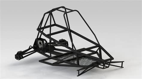 design buggy frame buggy chassis 3d cad model grabcad
