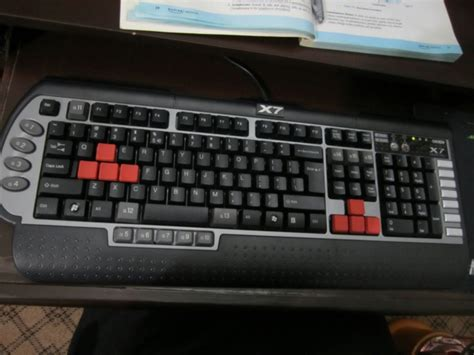 Keyboard Gaming A4tech X7 G800v ヲチモノ キーボード a4tech x7 g800v jp e 画像など