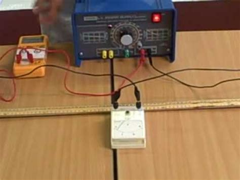 how to measure resistance between two wires resistance of a wire length