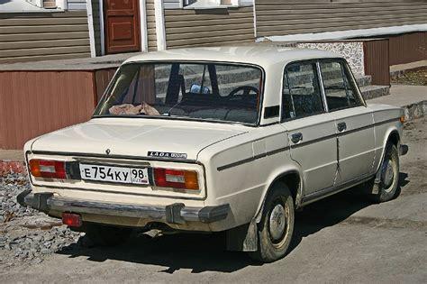 Russian Lada Car Russian Lada 2106 1300 Rear