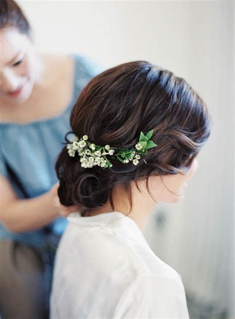 brunette bride hairstyles brunette wedding hairstyles pinterest te d 252 ğ 252 n sa 231