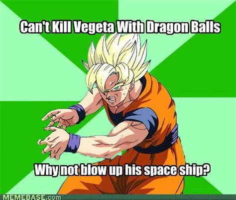 Dbz Funny Memes - goku meme know your meme