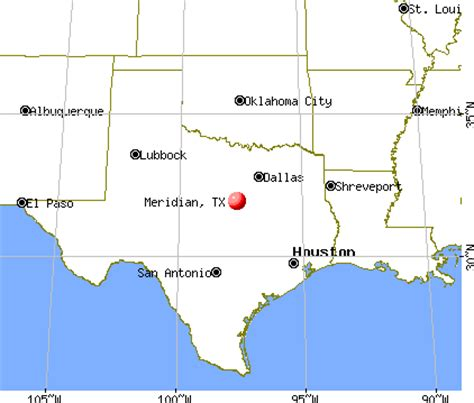 meridian texas map meridian texas tx 76665 profile population maps real estate averages homes statistics