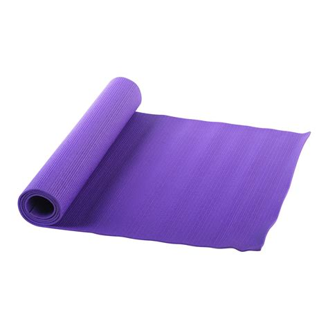Yogs Mat by Health Fitness Mat Purple Fitness Sports