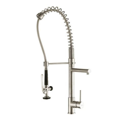 kraus commercial pre rinse chrome kitchen faucet kraus kpf 1602 chrome commercial style pre rinse kitchen