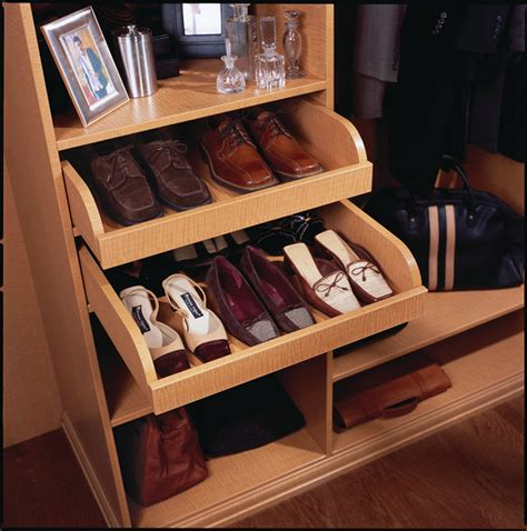 slide out shoe storage pull out shoe drawer contemporary closet other metro