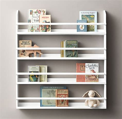 diy wall mounted bookshelves created by v