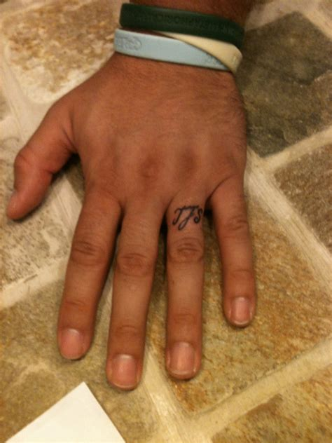 word tattoo designs for men 33 attractive finger tattoos for