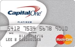 Capital One Credit Card Template Capital One R Secured Mastercard R Credit