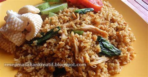 resep nasi goreng jawa  sederhana  kampung aneka