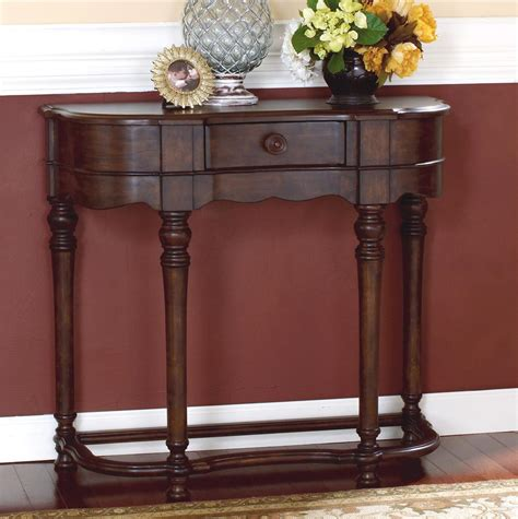 Furniture Brookfield by Signature Design By Brookfield 1 Drawer Sofa Table Wayside Furniture Console Sofa Table