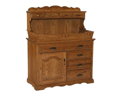 Amish Kitchen Furniture amish hardwood dry sink