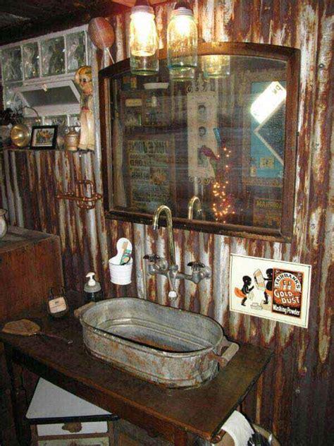 inspiring rustic bathroom ideas  cozy home amazing