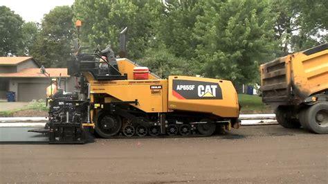 Paving Supplies Operator Describes Benefits Of Caterpillar Ap655f Paver