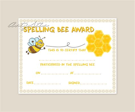 best photos of spelling bee certificate maker spelling