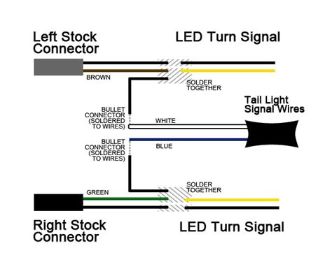 wiring diagram for motorcycle led indicators wiring diagram