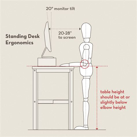 height for standing desk building an adjustable height standing desk