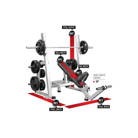fitness gear pro olympic bench legend fitness pro series olympic incline bench 3241