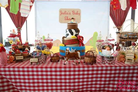 Western Baby Shower Decorations by Western Baby Shower Ideas Baby Ideas