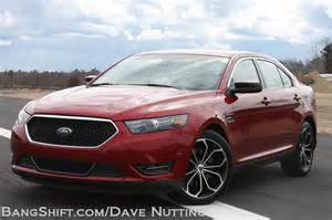 bangshift 2013 ford taurus sho bangshift review