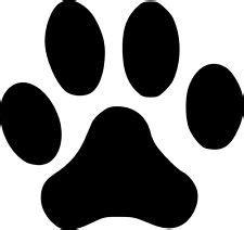 jaguar paw prints clipart best