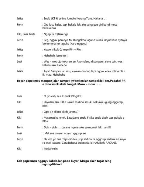 Drama Bahasa Jawa