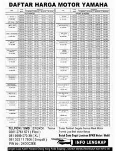 harga motor harga motor suzuki matic 2014