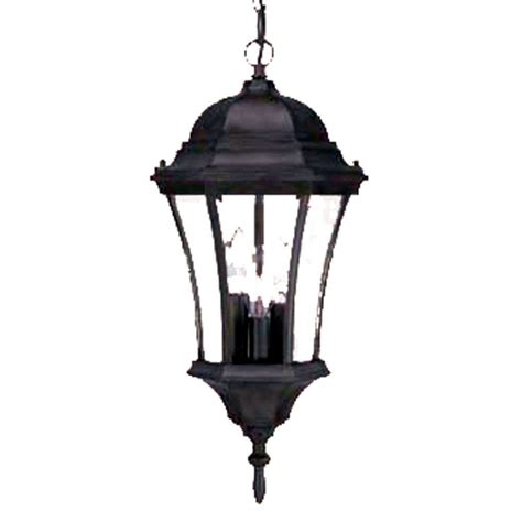 Outdoor Hanging Lantern Light Fixtures Acclaim Lighting Brynmawr Collection Hanging Lantern 3 Light Outdoor Matte Black Light Fixture