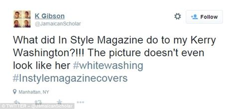 in style magazine customer service kerry washington s instyle cover sparks backlash from fans