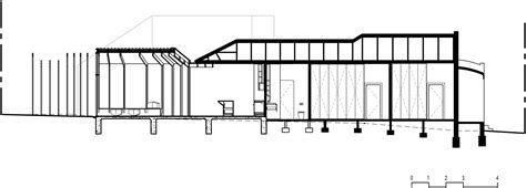 Longitudinal Section Architecture by Gallery Of Cross Stitch House Fmd Architects 13