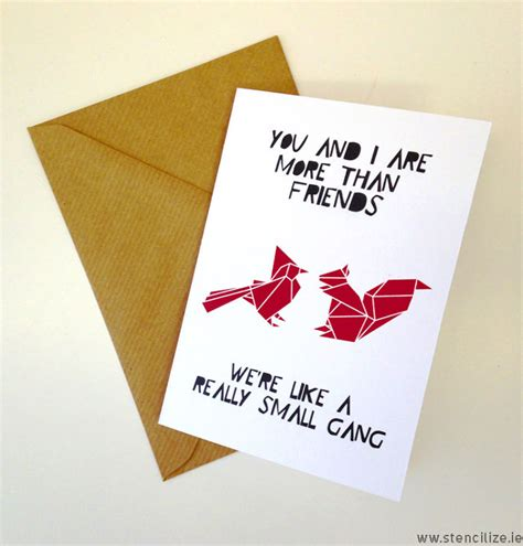 valentines card for best friend best friends valentines card you and i are more than