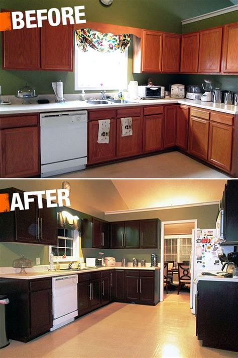 a new coat of paint can transform your kitchen cabinets