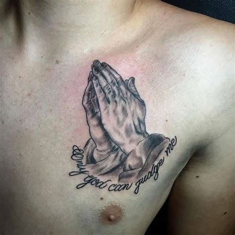 praying hands tattoo on chest 10 praying designs ideas design trends